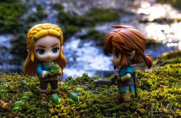 Link, du får inte äta någon av dessa söta grodor!